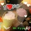 Miercoles Mudo: Tomando helado (Mr.H y yo ^^)